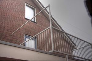 Balkonhek staal