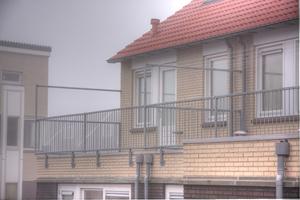 balkonhekwerk of balustrade
