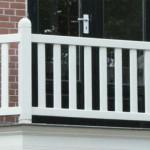 houten balkonhekwerk