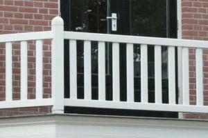 Balkonhekwerk hout