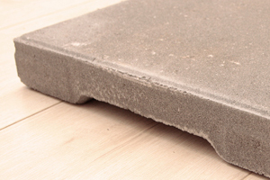 terrastegel van beton