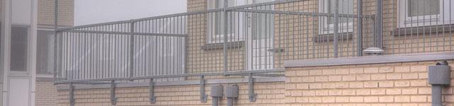 Balkon Omheining
