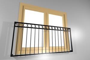 sierhekwerk voor raam