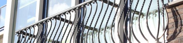 stalen hek voor raam