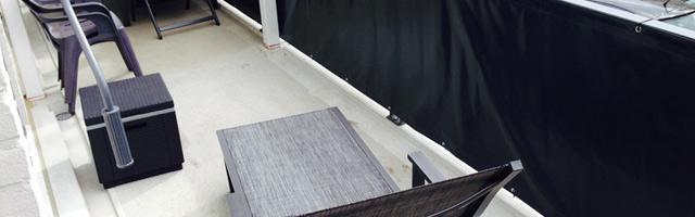 balkon afschermen