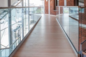 balustrade glas RVS