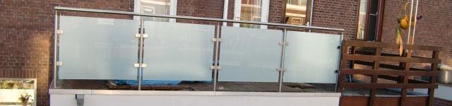 glazen balustrade op maat