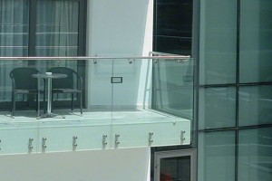 rvs balustrade glas