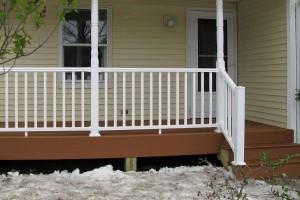 veranda balustrade