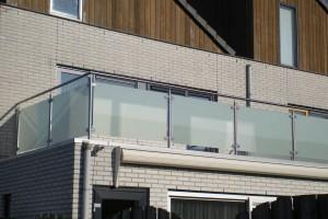 Balkonhekken Glas