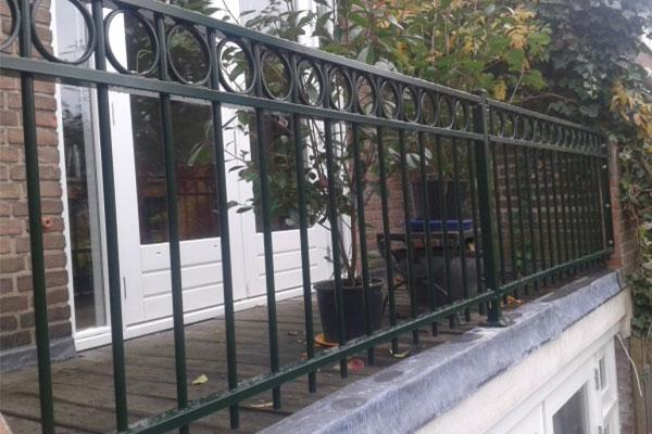 Balustrade voor dakterras op zoek naar een balustrade - Ijzer terras ...