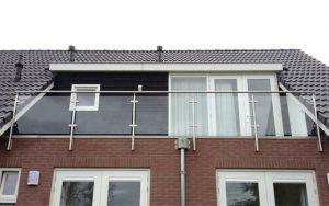 glazen balustrade balkon