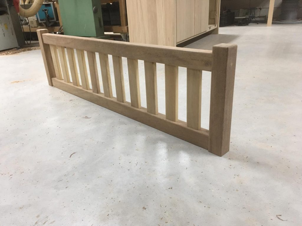houten balustrade trapgat