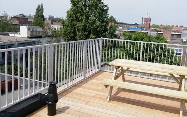 aluminium hekwerk balkon