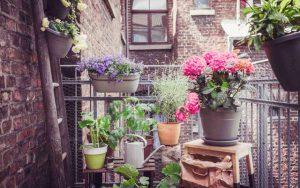 klein balkon gezellig maken