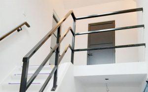 trap balustrade schuin
